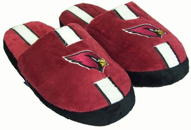 Arizona Cardinals YOUTH Team Stripe Slide Slippers - Medium