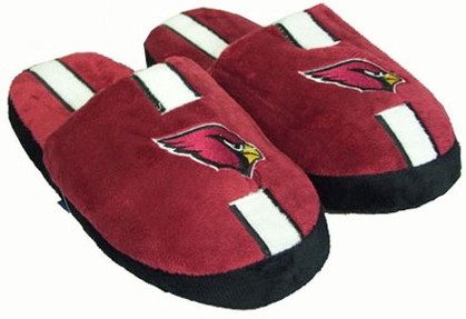 Arizona Cardinals YOUTH Team Stripe Slide Slippers - X-Large