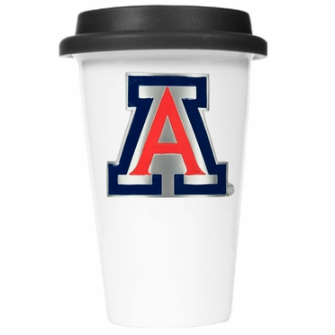 Arizona Ceramic Travel Cup (Black Lid)