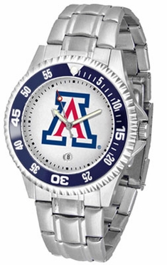 Arizona Competitor Men's Steel Band Watch