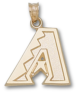 Arizona Diamondbacks 10K Gold Pendant