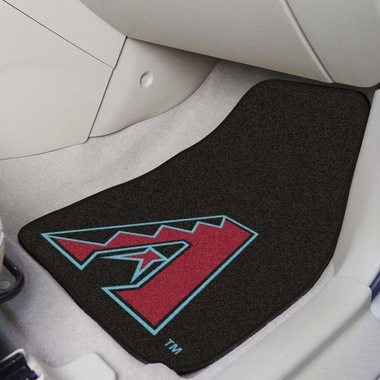 Arizona Diamondbacks 2 Piece Car Mats