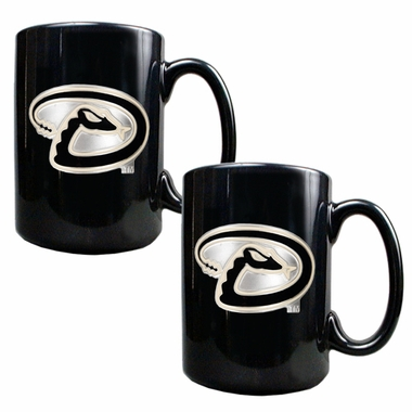 Arizona Diamondbacks 2 Piece Coffee Mug Set