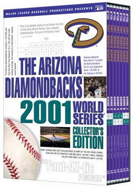 Arizona Diamondbacks 2001 World Series Collector's Edition DVD