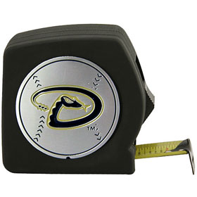 Arizona Diamondbacks Black Tape Measure