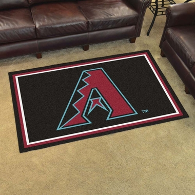 Arizona Diamondbacks 4 Foot x 6 Foot Rug
