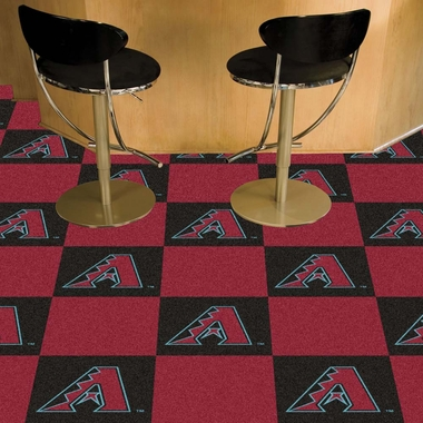 Arizona Diamondbacks Carpet Tiles