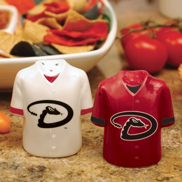 Arizona Diamondbacks Ceramic Jersey Salt and Pepper Shakers