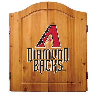 Arizona Diamondbacks Complete Dart Cabinet