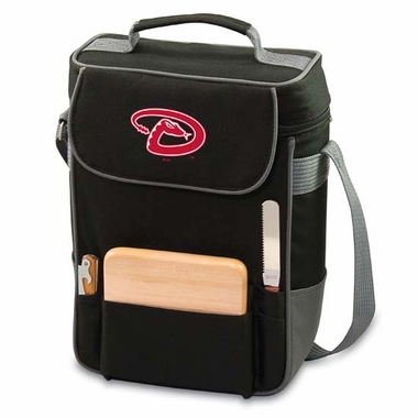 Arizona Diamondbacks Duet Compact Picnic Tote (Black)