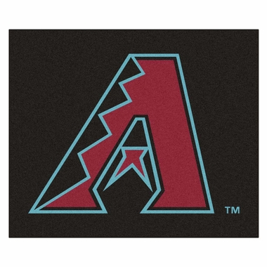 Arizona Diamondbacks Economy 5 Foot x 6 Foot Mat