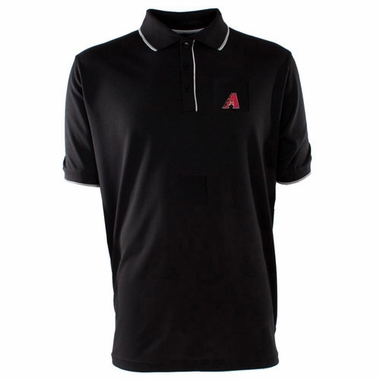 Arizona Diamondbacks Mens Elite Polo Shirt (Team Color: Black)