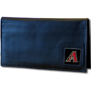 Arizona Diamondbacks Leather Checkbook Cover (F)