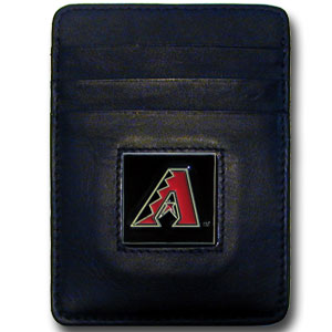 Arizona Diamondbacks Leather Money Clip