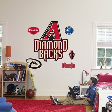 Arizona Diamondbacks Logo Fathead Wall Graphic