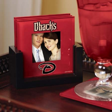 Arizona Diamondbacks Photo Coaster Set