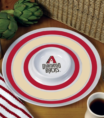 Arizona Diamondbacks Plastic Chip and Dip Plate