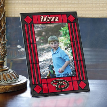 Arizona Diamondbacks Portrait Art Glass Picture Frame