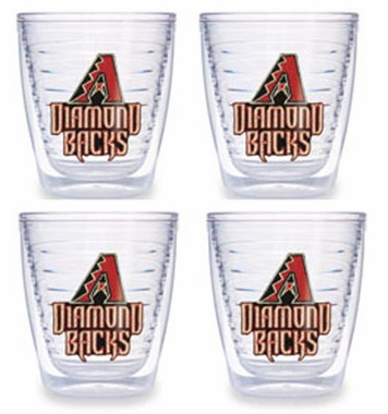 Arizona Diamondbacks Set of FOUR 12 oz. Tervis Tumblers
