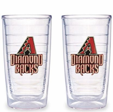 Arizona Diamondbacks Set of TWO 16 oz. Tervis Tumblers