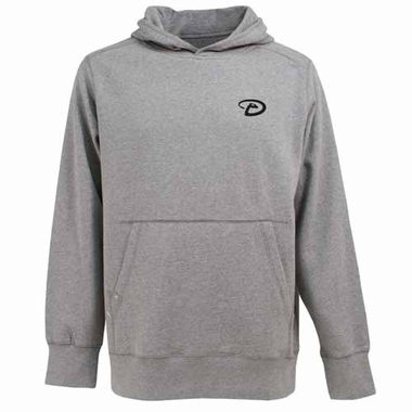 Arizona Diamondbacks Mens Signature Hooded Sweatshirt (Color: Gray)