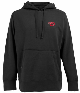 Arizona Diamondbacks Mens Signature Hooded Sweatshirt (Team Color: Black)