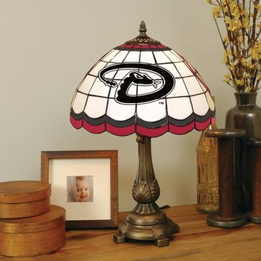 Arizona Diamondbacks Stained Glass Table Lamp