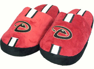Arizona Diamondbacks Team Stripe Slide Slippers