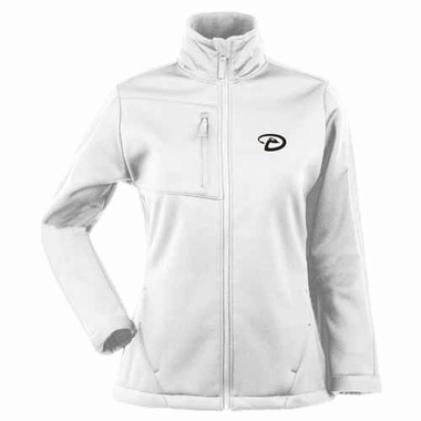 Arizona Diamondbacks Womens Traverse Jacket (Color: White)
