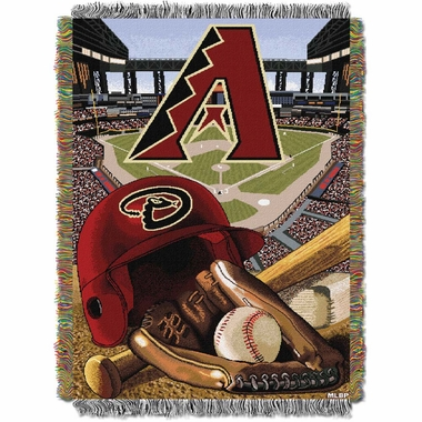 Arizona Diamondbacks Woven Tapestry Blanket