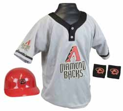 Arizona Diamondbacks YOUTH Helmet and Jersey Set