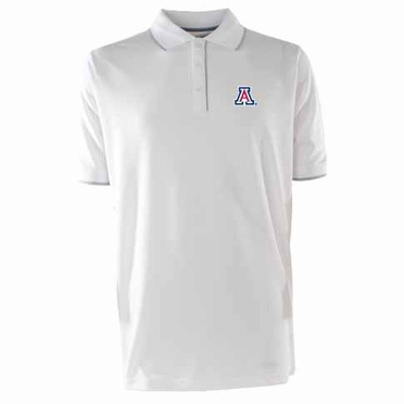 Arizona Mens Elite Polo Shirt (Color: White)