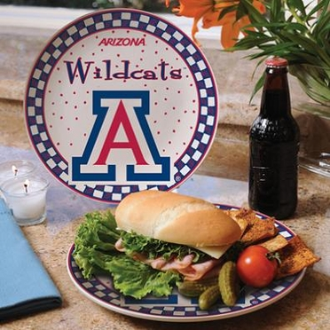Arizona Gameday Ceramic Plate