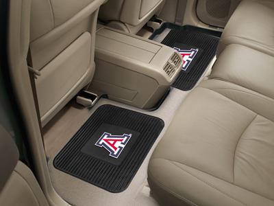 Arizona SET OF 2 Heavy Duty Vinyl Rear Car Mats