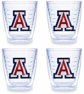 Arizona Set of FOUR 12 oz. Tervis Tumblers