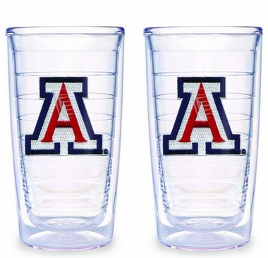 Arizona Set of TWO 16 oz. Tervis Tumblers