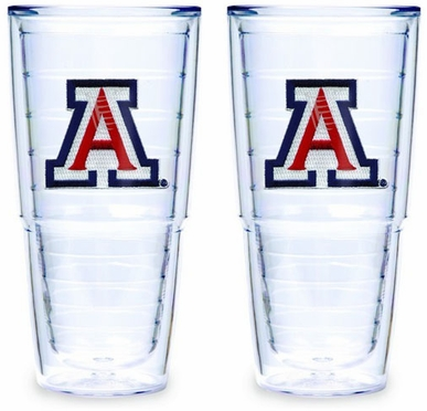 Arizona Set of TWO 24 oz. Tervis Tumblers
