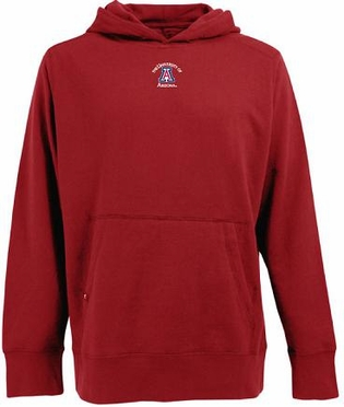 Arizona Mens Signature Hooded Sweatshirt (Team Color: Red)