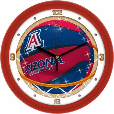 Arizona Slam Dunk Wall Clock