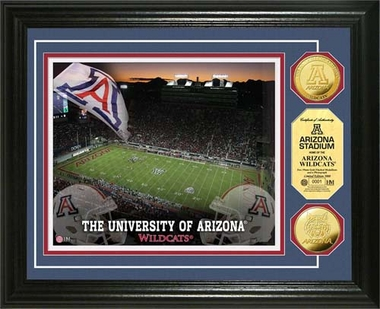 Arizona Wildcats  University of Arizona Stadium 24KT Gold Coin Photomint