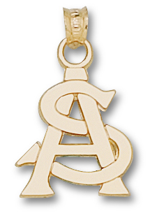 Arizona State 10K Gold Pendant