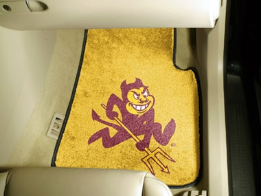 Arizona State 2 Piece Car Mats