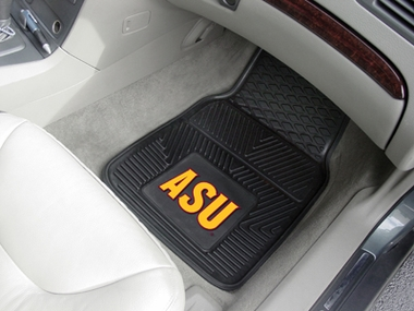 Arizona State 2 Piece Heavy Duty Vinyl Car Mats