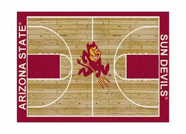 "Arizona State 3'10"" x 5'4"" Premium Court Rug"