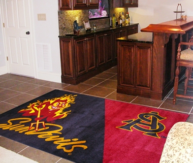 Arizona State 4 Foot x 6 Foot Rug