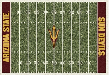 "Arizona State 7'8"" x 10'9"" Premium Field Rug"