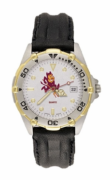 Arizona State All Star Mens (Leather Band) Watch