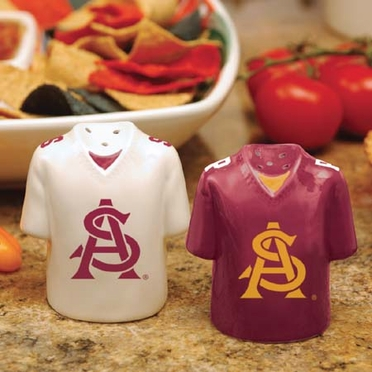 Arizona State Ceramic Jersey Salt and Pepper Shakers