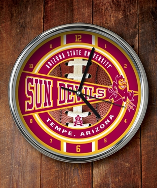 Arizona State Chrome Clock