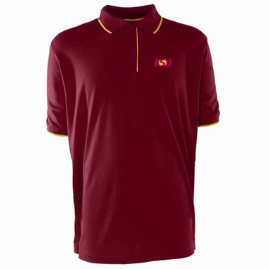 Arizona State Mens Elite Polo Shirt (Team Color: Maroon)